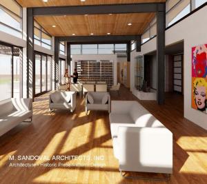 Contemporary House Design - Interior View 022520