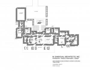 Napa Contemporary House Design -Floor Plan Presentation - 012520-2
